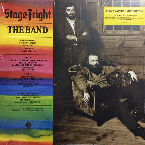 The Band: Stage Fright 50th Anniversary Vinyl Record