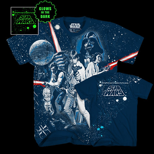 Star Wars A New Hope Glow In The Dark T-Shirt