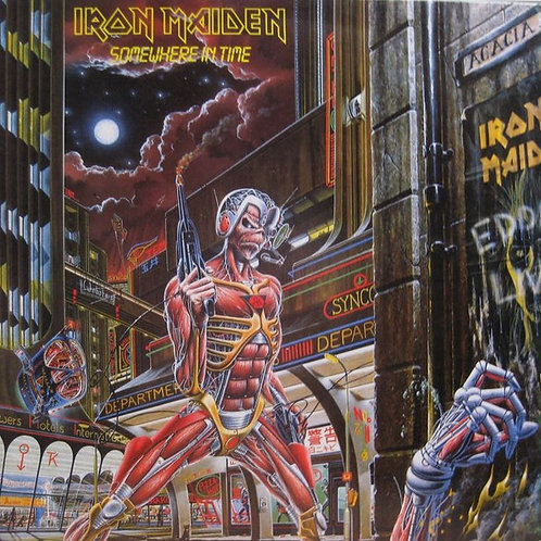 Iron Maiden: Somewhere InTime Vinyl Record