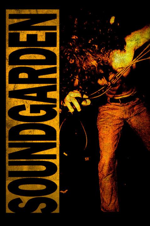 Soundgarden Louder Than Love Album Poster