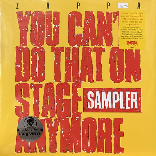 Frank Zappa: You Can't Do That On Stage Anymore Vinyl Record