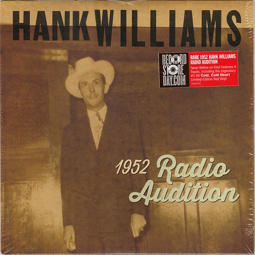 Hank Williams: 1952 Radio Audition 45 RPM