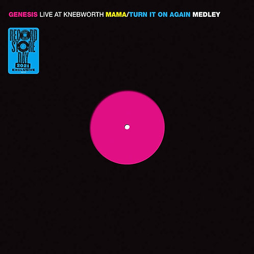 Genesis: Live At Knebworth Vinyl Record