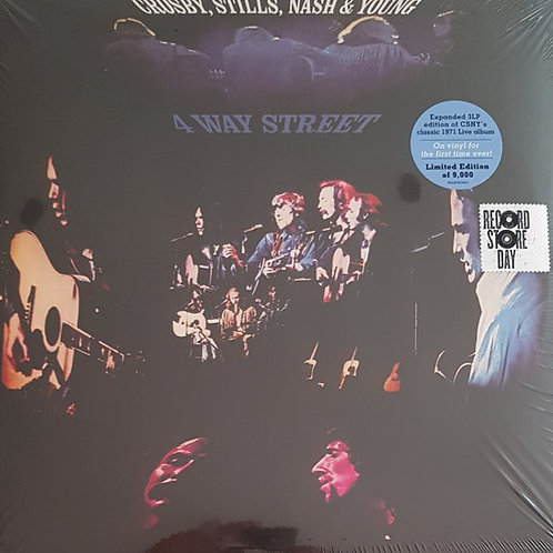 Crosby, Stills, Nash & Young: 4 Way Street Vinyl Record Front Cover RSD