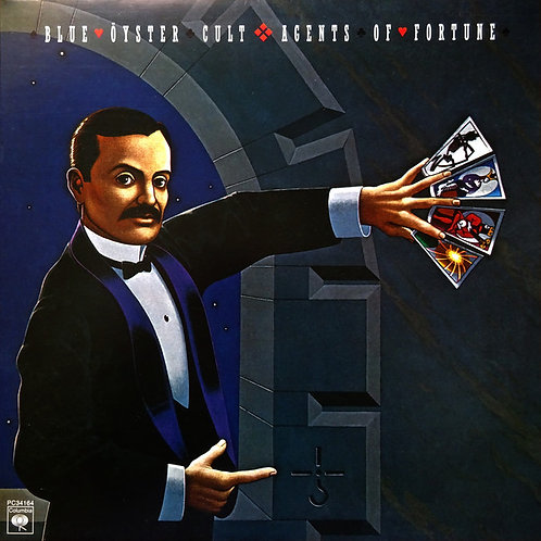 Blue Oyster Cult: Agents Of Fortune Vinyl Record (MOV)