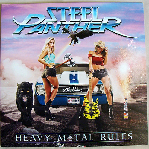 Steel Panther Heavy Metal Blues Front Cover