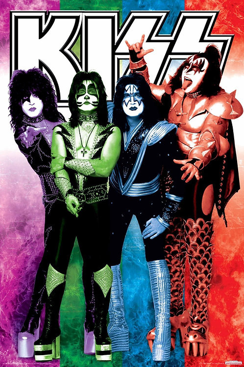 Kiss Colours Poster