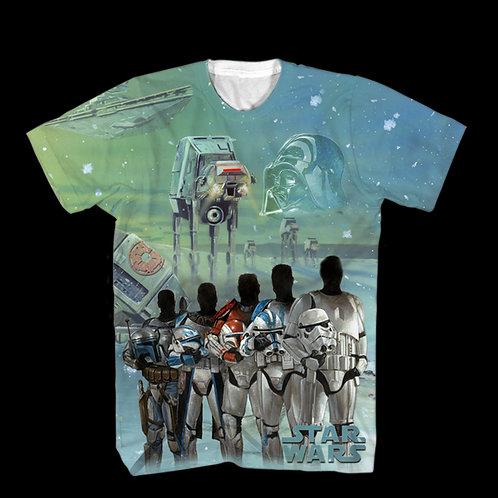 Star Wars Fresh Stay (Darth Vader, Stormtrooper) T-Shirt