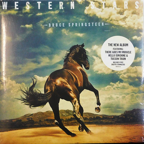 Bruce Springsteen: Western Stars Vinyl Record front cover