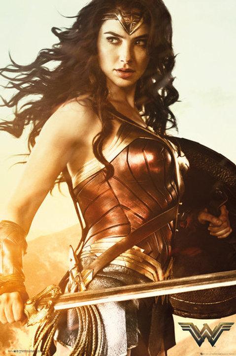 Wonder Woman (Gal Gadot) Movie Poster