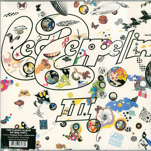 Led Zeppelin III Vinyl Record Front Cover