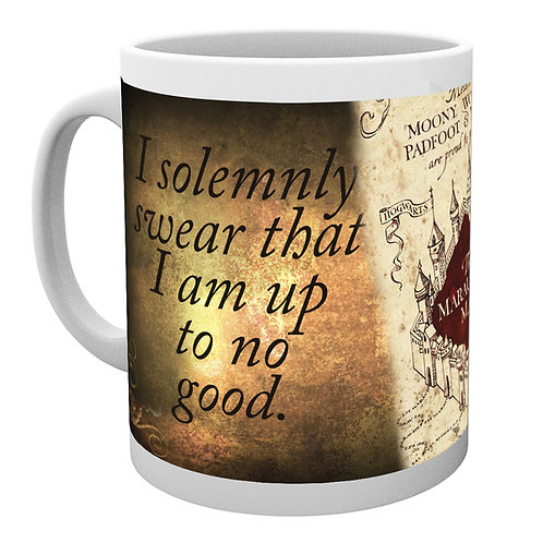 Harry Potter Marauder's Map Coffee Mug