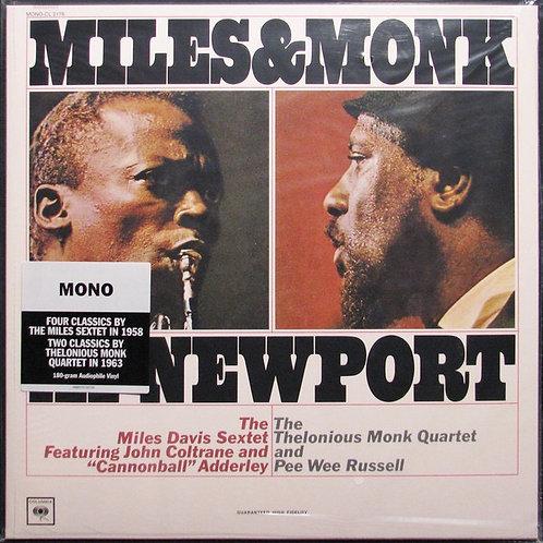 Miles Davis & Thelonius Monk At Newport HQ 180gr Vinyl Record