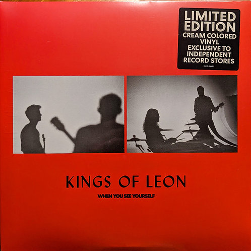 Kkings Of Leon: When You See Yourself Cream Coloured Vinyl Record