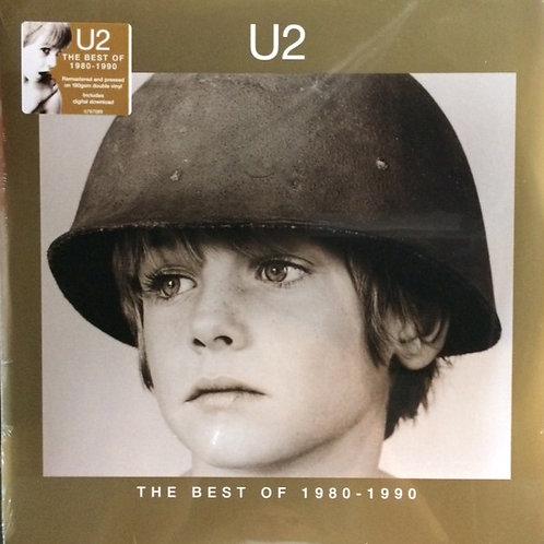 U2 The best of 198-1990 Vinyl record front