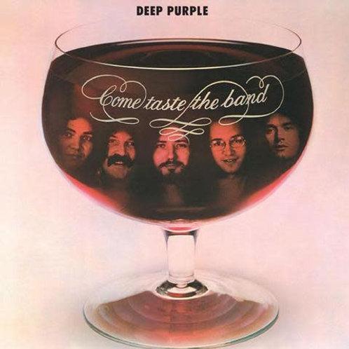 Deep Purple: Come Taste The Band Vinyl Record (Purple) Front Cover