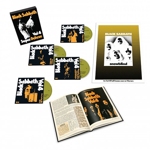 Black Sabbath Vol. 4  Super Deluxe Edition Vinyl Records
