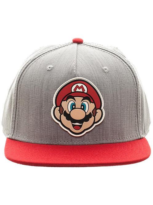 Mario Snapback Baseball Cap