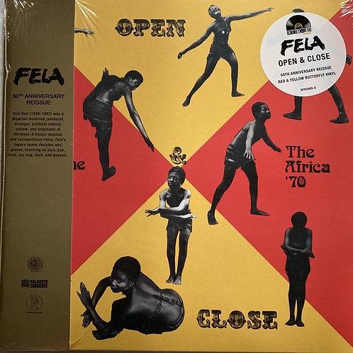 Fela Kuti: Open Close 50th Vinyl record