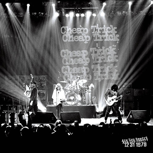 Cheap Trick: Are You Ready? Live 12/31/79 Record Store Day Black Friday