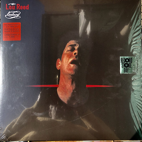 Lou Reed Ecstasy Front COVER Vinyl Record