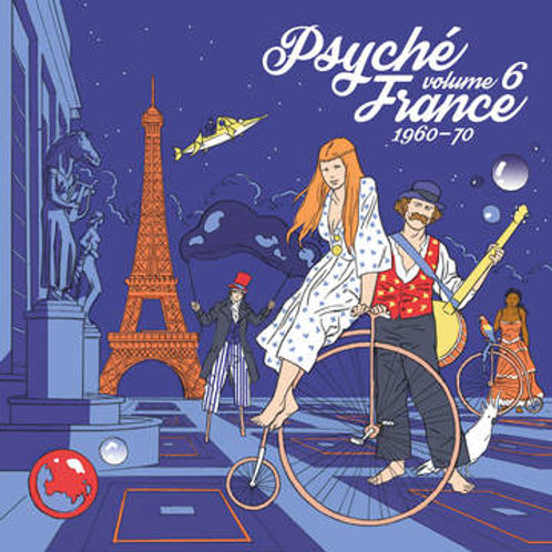 Psyche France 1960-70 Vinyl Record Volume 6