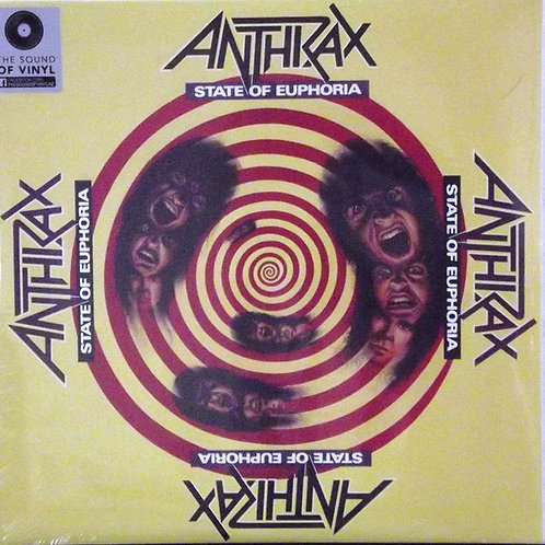 Anthrax State of Euphoria front cover
