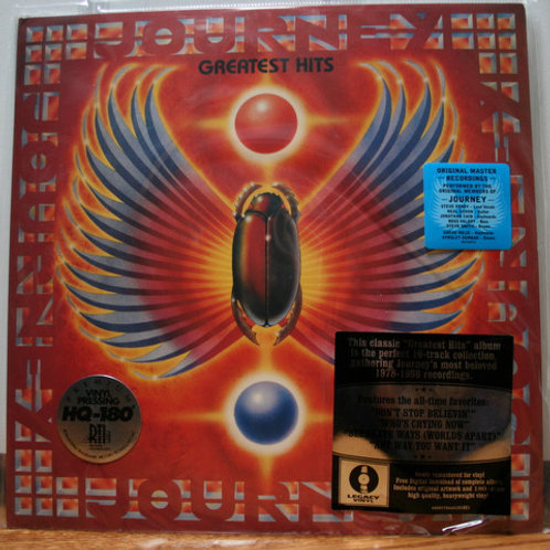 Journey Greatest Hits Vinyl Record