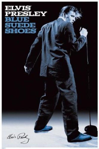 Elvis Presley: Blue Suede Shoes Poster