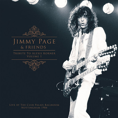 Jimmy Page & Friends: Tribute To Alexis Corner Vinyl Record