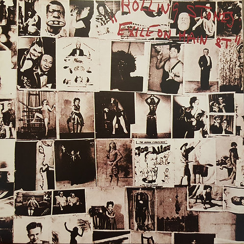 The Rolling Stones: Exile On Main Street Vinyl Record