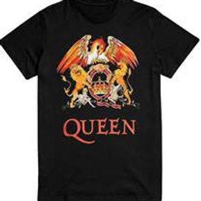 Queen Crest colour logo T-Shirt