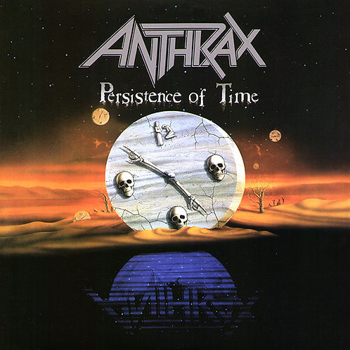 Anthrax: Persistence Of Time 4 LP Coloured Vinyl