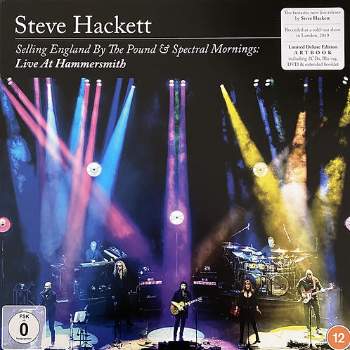 Steve Hackett: SELLING ENGLAND BY THE POUND & SPECTRAL MORNINGS: LIVE AT HAMMERS Vinyl Record
