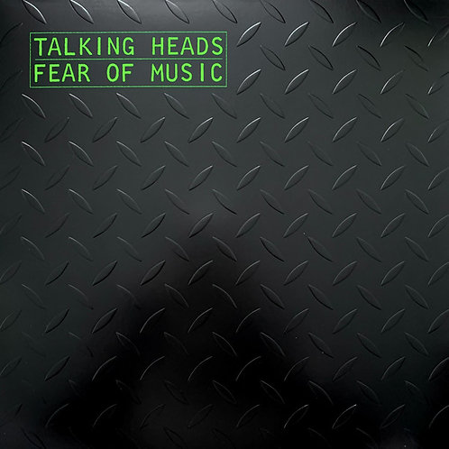 Talking Heads: Fear Of Music Silver Vinyl Record
