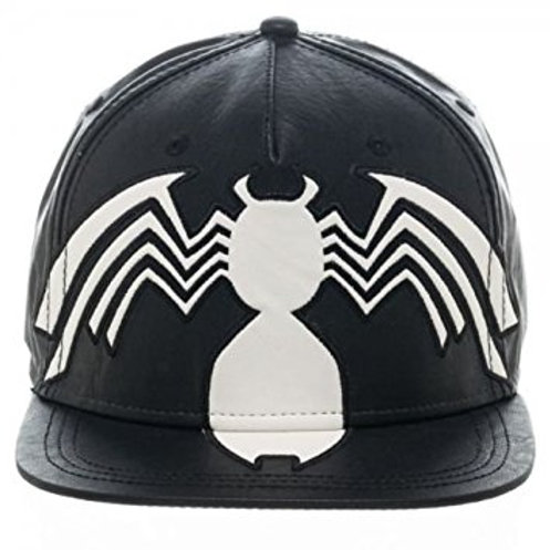 Venom Faux Leather Snap Back Cap