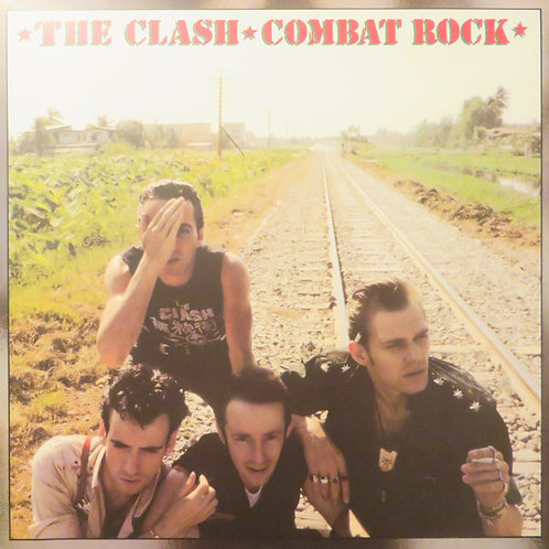 The Clash: Combat Rock Vinyl Record