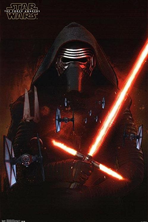 Star Wars The Force Awakens Kylo Ren Poster