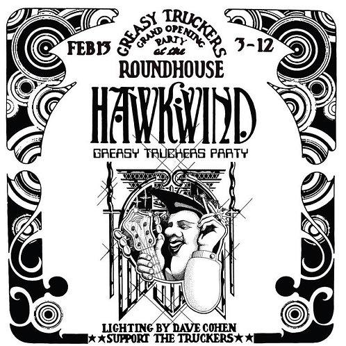 Hawkwind: Greasy Truckers Party Vinyl Record