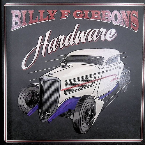 Billy Gibbons: Hardware Indie store Candy Apple red Vinyl
