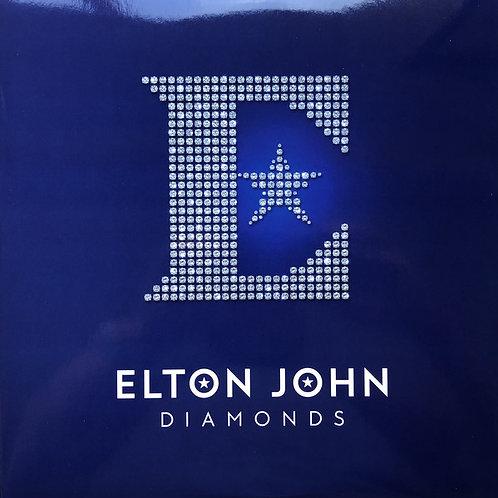 Elton John: Diamonds BLUE Vinyl Record
