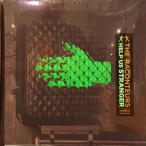 The Raconteurs: Help Us Strangers Vinyl Record Front Cover