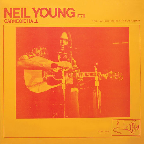 Neil Young: Live At Carnegie Hall 1970 Vinyl Record