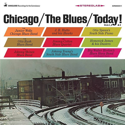 Chicago:The Blues Today Triple Vinyl Record