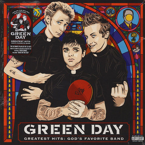 Green Day – Greatest Hits: God's Favorite Band Vinyl Record