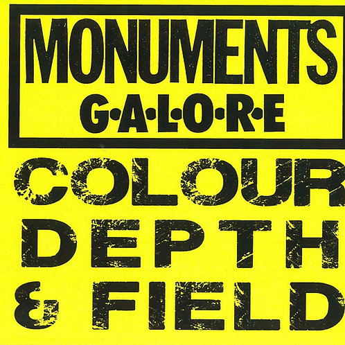 Monuments Galore: Colour, Depth & Field CD
