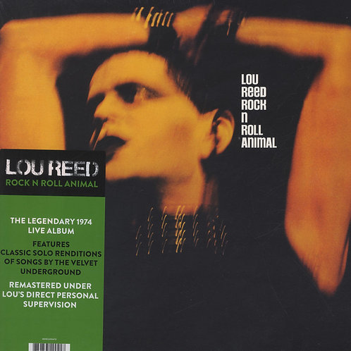 Lou Reed: Rock and Roll Animal 180gr Vinyl Record