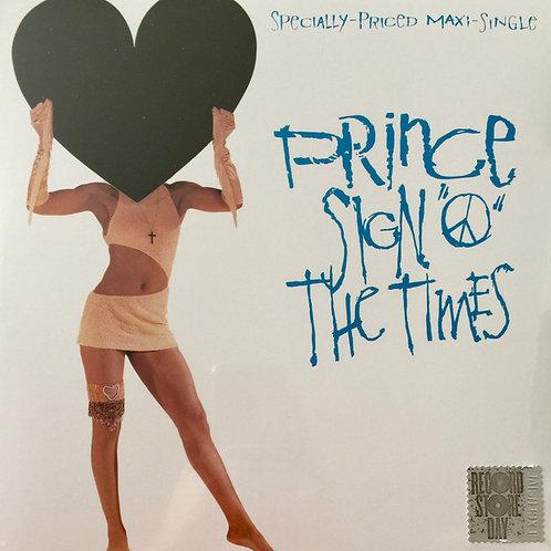 """Prince: Sign O The Times 12"""" Maxi Single Vinyl Record"""