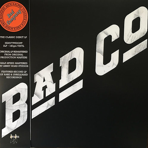 Bad Company S/T 180 Deluxe Vinyl Record