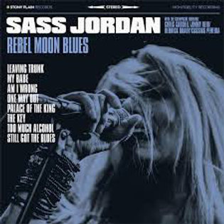 Sass Jordan: Rebel Moon Blues Vinyl Record